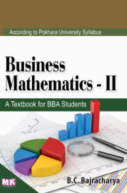 Business Mathematics – II (PU) – M K  Publishers and Distributors
